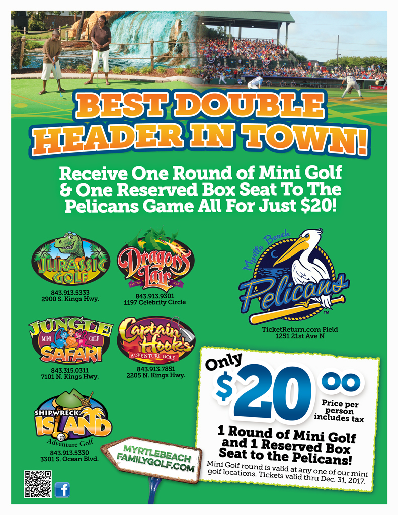 Best Double Header Flyer includes tax-2017