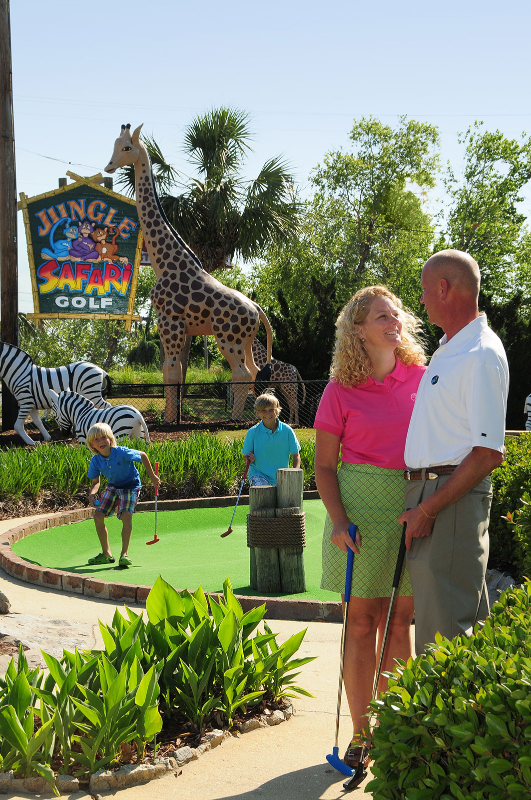 Jungle Safari - Myrtle Beach Family Golf - Myrtle Beach, SC